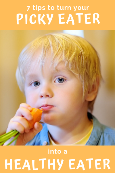 picky eater get kids to eat healthy